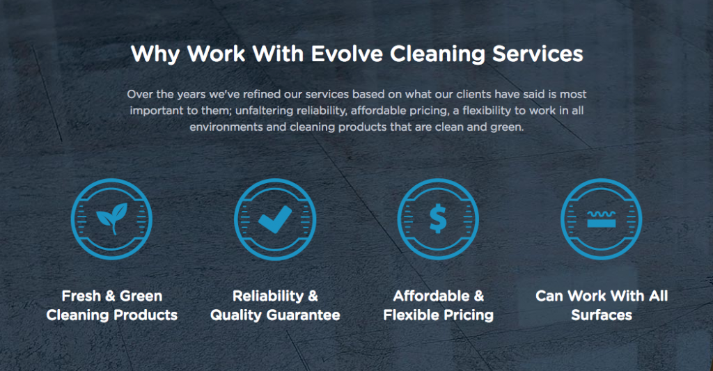 Why Choose Evolve Cleaning