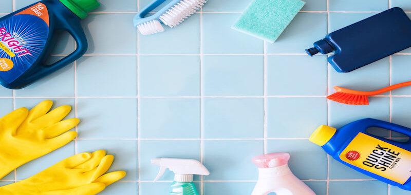 set of washing product