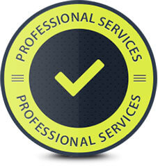 professional services badge